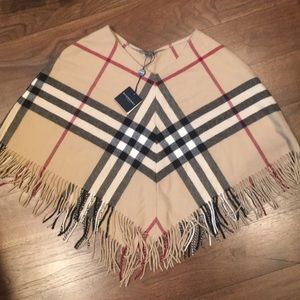 Burberry Cape/shawl -  cashmere - new without tags